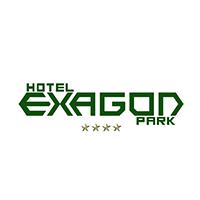 Logotipo Hotel Exagon